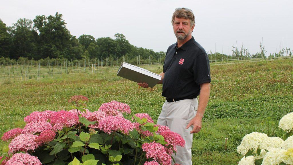 Dr. Tom Ranney, ornamentals plant breeder